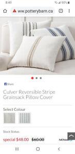 Potterybarn Pillow Cases (2)