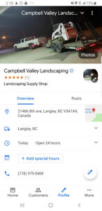 Campbell valley landscaping