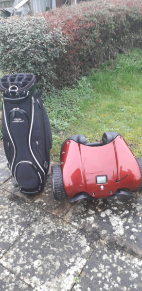 Stewart Golf F1 Remote Control Golf Trolley with Bag  for sale  Dursley, Gloucestershire