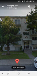 4 1/2 for rent in Longueuil, 2596 Cartier-725$