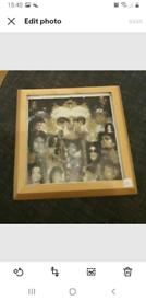 Michael Jackson completed diamond painting