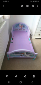 Childs frozen bed