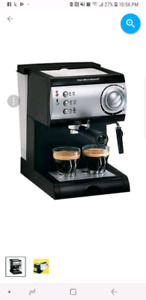 Hamilton beach cafétière Espresso & cappucino maker