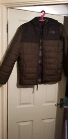 Boys large noth face coat