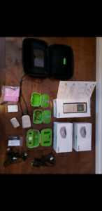 Phonak B90-R hearing aids with accessories