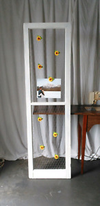 Rustic Window Frame Picture Frame