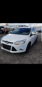 2012 Ford Focus with safety check