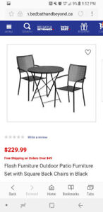 GREAT patio furniture set