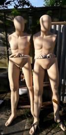 Male...2 Mannequins