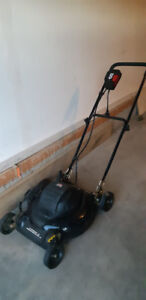 Jobmate 8A Electric Lawn Mower, 18-in