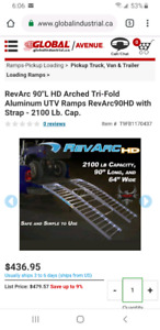 2100lb HD Revarc ramps