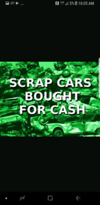 scrap cars wanted used car junk car text or call $$$ 4165583295
