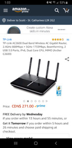 TP-LINK Archer C2600 Dual band router
