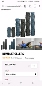 Black Compact Rumble Roller