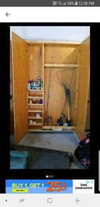 Cross Country Ski Storage Unit