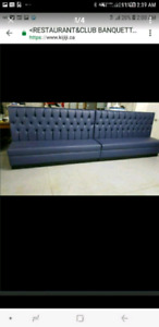 **Custom made Banquettes