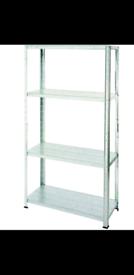 4 shelf storage unit