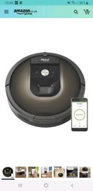 Roomba 980 Robot Vacuum Rrp £540 on Amazon.