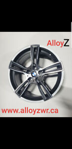 """BMW 18"""" MAGS  WHEELS  ROUES MAGS NEW IN BOX!!"""