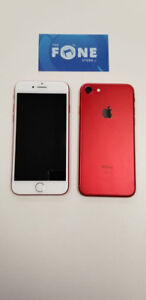 iPhone 7 / 7Plus Unlocked w/Warranty Limited Edition Red!! CALL