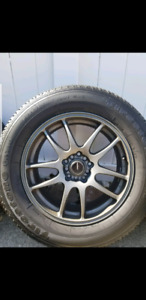 Multi fit rims with tires