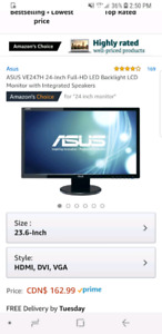 Moniteur Asus LED 24""