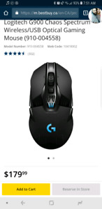 Logitech g900 and g910 excellent conditon