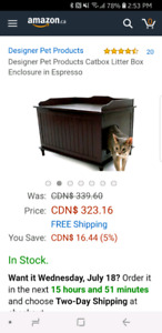 Deluxe Cat Litter Box