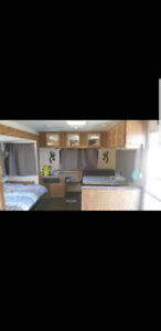 **Remodeled wilderness trailer**