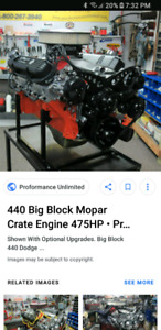 Looking for a mopar 440 running or not doesn't matter