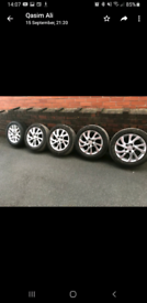 Alloy wheel for Toyota Auris 205 55 r16