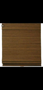 Woven Bamboo Roll Up Blinds-New