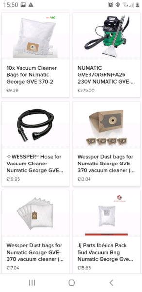 *** RRP:£375 *** Numatic George GVE 370 Dry/Wet Vax Vacuum *** for sale  Wigston, Leicestershire