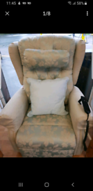 Electric recliner easy chair