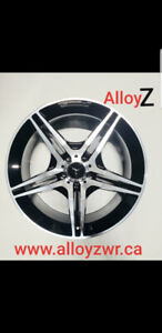 """MERCEDES 19"""" MAG WHEELS ROUES NEW IN BOX!!"""