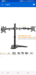 """Dual Monitor Stand Up to 32"""""""