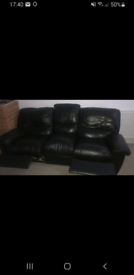 Sofa Recliner Black