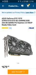 strix gtx1070 8gb