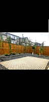 Landscaping Sod Fence Patio