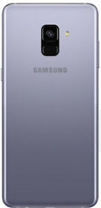Samsung a8 brand new closed box,orchid grey unlocked 2 availble