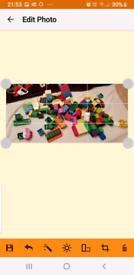 123 mixed duplo bricks
