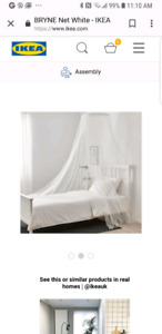 Bed Canopy Net from Ikea