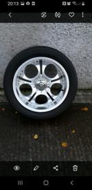 "20"" Deep dish alloy wheels"