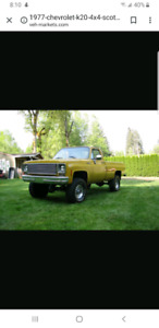 Looking for 1973 to 1980 Chevy parts truck or parts