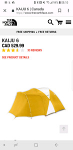 North face Kaiju 6 Person Tent
