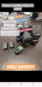 Canon 6d Mark II COMPLETE package!!!
