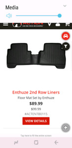 ENTHUZE FLOOR MATS
