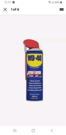 WD40 Multi Purpose Lubricant Aerosol Spray Smart Straw 450mL x 6