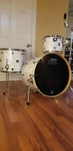 DW drums with hardware