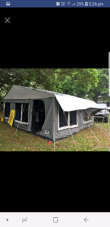 2011 Blue tongue camper trailer Mount Warrigal Shellharbour Area Preview